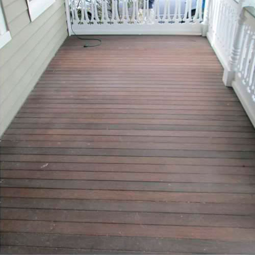 Fence and Deck Restoration before