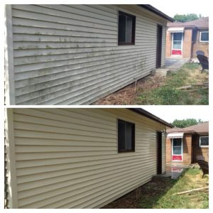house washing before and after 2